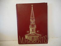 1967 WV Wesleyan College Yearbook - The Murmurmontis - Buckhannon, WV