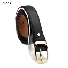 Simple High Quality Gold Pin Metal Buckle Straps Belt With Jeans Women Belt