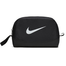 Nike Club Team Swoosh Toiletry Bag Gym Sports Cosmetics Travel Black