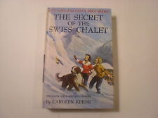Dana Girls #20, The Secret of the Swiss Chalet, Picture Cover