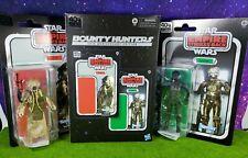 "Star Wars Black Series 6"" 4-Lom & Zuckuss 2 pack 40th Anniversary Bounty Hunters"