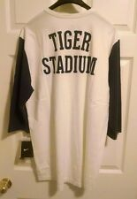 Nike Cooperstown Collection Detroit Tigers Throwback Tiger Stadium Men's L -NWT