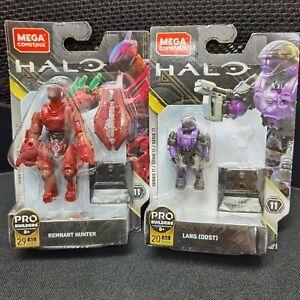 Mega Bloks Construx Halo Heroes Series 11 Remnant Hunter & Lang ODST(NO WEAPON)