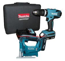 Makita 18V Li-ion Combi Drill & Cordless Jigsaw includes 2 Batteries *BRAND NEW*