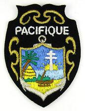 Ecusson brodé militaire ♦ (patch/crest embroidered) ♦ PACIFIQUE POLYNESIE