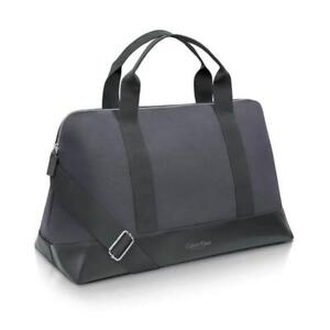 NEW Calvin Klein Charcoal Weekend / Travel / Gym / Holdall / Duffle Bag