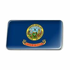 Idaho State Flag Metal Rectangle Lapel Hat Pin Tie Tack Pinback
