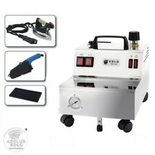 EOLO GV05 professionelle Dampfbügelstation mit Bügeleisen und Dampfbürste 5 Bar