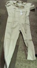 NEW VINTAGE BIG BEN GREEN MOUNTAIN OUTFITTERS KHAKI SUMMER COVERALLS MEN'S SMALL