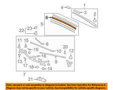HONDA OEM 06-07 Civic Wiper-Windshield-Wiper Blade Refill Right 76632SNAA01