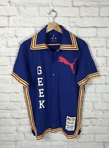NEW Puma Fashion GEEK All Star Game Mens Warm Up Shirt Size Medium