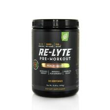 More details for new! redmond - re-lyte pre-workout peach mango  450g