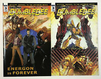 Transformers Bumblebee #3 2 Variant Bundle (IDW 2018) Griffith Ossio