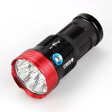 Tactica SKYRAY 15000Lumen 9x CREE XML T6 LED Glare Flashlight Hunting Work Lamp