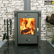 VERONA L 12kw Wood Burning Multi Fuel, Wood Burner Modern Stoves