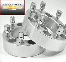 4 Pc CHEVY TRAILBLAZER 6 LUG WHEEL ADAPTER SPACERS 1.50 Inch # 6500C1215