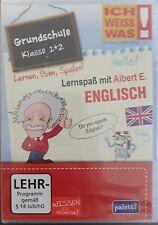 Ich weiß was! - Grundschule Klasse 1 + 2-  Lernspaß mit Albert E. --- Englisch