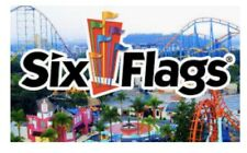 1 Six Flags 2020 Season Pass Ticket & Parking Pass Pick Location Fast E-delivery