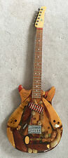 "MICHAEL SPALT RESINTOP G 99 15 ""SHOELESS"" ONE OF A KIND GUITAR (1999)"