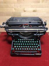Machine à écrire Ancienne COLLECTION UNDERWOOD 12  TYPEWRITER VINTAGE  TBE