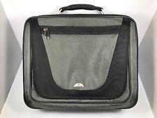 """SAMSONITE Notebook GRAY & BLACK Laptop Briefcase Computer Shoulder Bag - 15"""""""