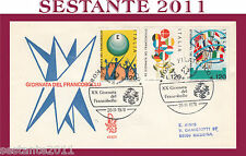 ITALIA FDC VENETIA 455 1978 GIORNATA DEL FRANCOBOLLO ANNULLO SPECIALE ROMA G806