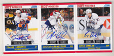 10-11 Score Rookies & Traded Jacob Markstrom Auto Rookie Autograph Canucks 2010