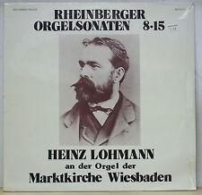 Heinz Lohmann RHEINBERGER Organ Sonatas No.8-15  Da Camera Magna SM 93269 SEALED