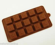 15 cell GIFT PARCEL PRESENT Chocolate Box Candy Bakeware Mould Cake Pan Mold