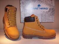 Scarpe alte scarponcini Marc Hero uomo shoes pelle giallo marrone 40 41 42 43 44