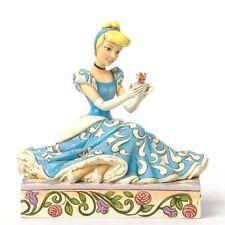 Jim Shore Disney Princess Cinderella Jaq Gus Figurine Caring 4037511 -New In Box