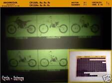 Honda CR 125_R_Ersatzteil_Kataloge_Teile_Microfich_1996