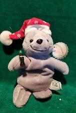 Nwt ~ Coca Cola Plush Bean Bag Christmas Seal #0102 ~ 1997 Coke Collectible!