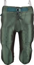 New Martin Youth Football Dazzle Game Pants w Integrated 7 Piece Pad Set Green
