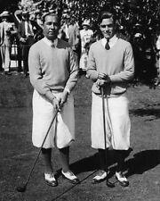 1928 PGA Golfers JOHNNY FARRELL & WALTER HAGEN Glossy 8x10 Photo Golf Poster