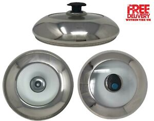 Tempered Glass Vented Spare Replacement Lid Saucepans Casseroles Frying Pans