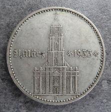 PIECES MONNAIE 2 REICHSMARK ARGENT ALLEMAGNE EGLISE 1934