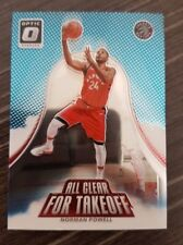 Norman Powell 2017-18 Donruss Optic All Clear For Takeoff base