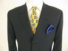 Paul Smith London Wool Blue Striped Blazer Jacket Sport Coat 42 R Made in Italy