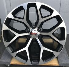 24'' GMC Sierra Wheels Chevy Black Rims Silverado Yukon Denali Suburban Tahoe