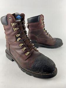Ariat Men's Hermosa Cobalt XR SZ 10 EE Wide Steel Toe Work Boots Redwood 37893