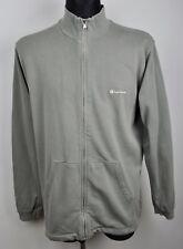 CHAMPION Full Zip Up Men XL Jumper Blue Sweatshirt Sweater Grey Zipped Tracksuit