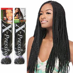 "X-Pression Ultra Braid 82"" Long Braiding Hair XPression 100% Kanekalon Color*1Pc"
