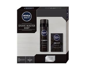 Nivea Men Shave Master Deep Shaving Gel 200 ml & After Shave Lotion 100 ml