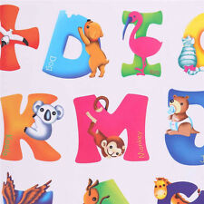 26 Animals Alphabet Wall decal Removable stickers educational decor kids Funny#
