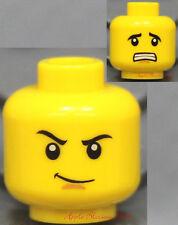 NEW Lego Ninjago Green Ninja Boy MINIFIG HEAD -Lloyd Minifigure Male Head w/Grin