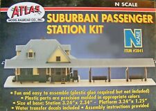 Atlas N Scale Structure Kit - Suburban Passenger Station
