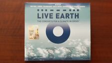 Various ‎– Live Earth: The Concerts For A Climate In Crisis 2 DVD 1 CD EU Madonn