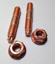 Spezial Torx Kupfer Stehbolzen M8x45 , 10.9, hochfest & Kupfermutter M8 je 1 St.