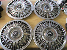 Genuine 1982 to 1986 Dodge 400 600 14 inch hubcaps wheel covers beaters